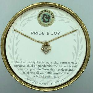 """SLV """"Pride & Joy"""" Anchor Necklace"""